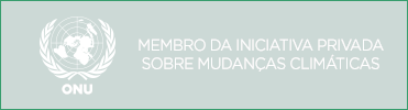 Logo da ONU Projeto de sustentabilidade ambiental